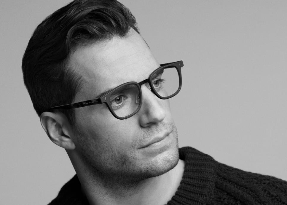 BOSS Eyewear Partners with Henry Cavill