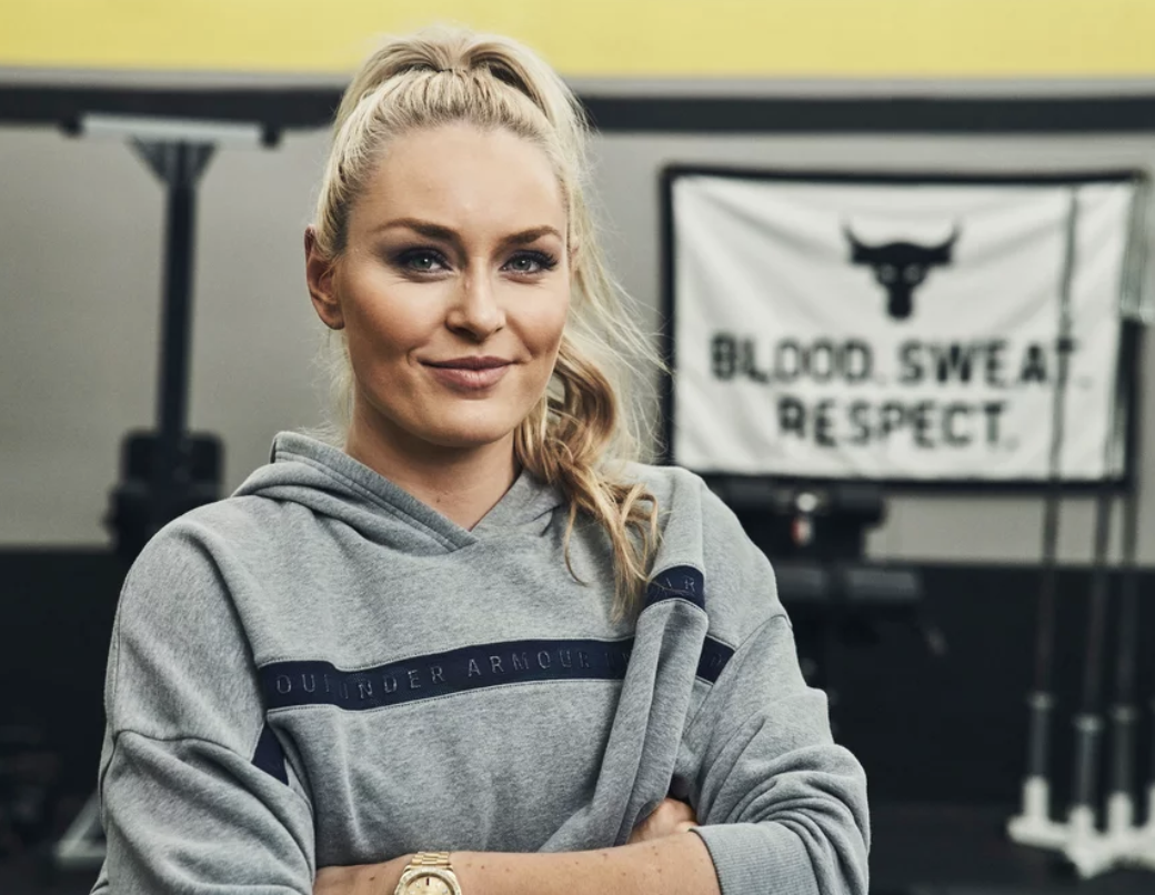 Lindsey Vonn Is the New Ambassador for Under Armour's Project Rock