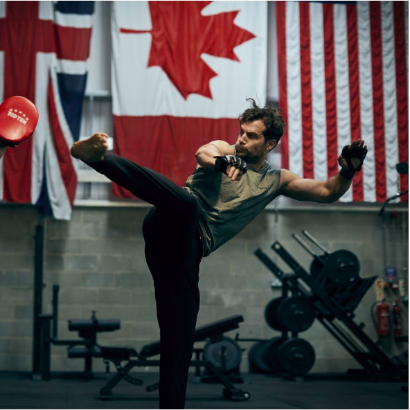 Henry Cavill on Being in the Best Shape of His Life