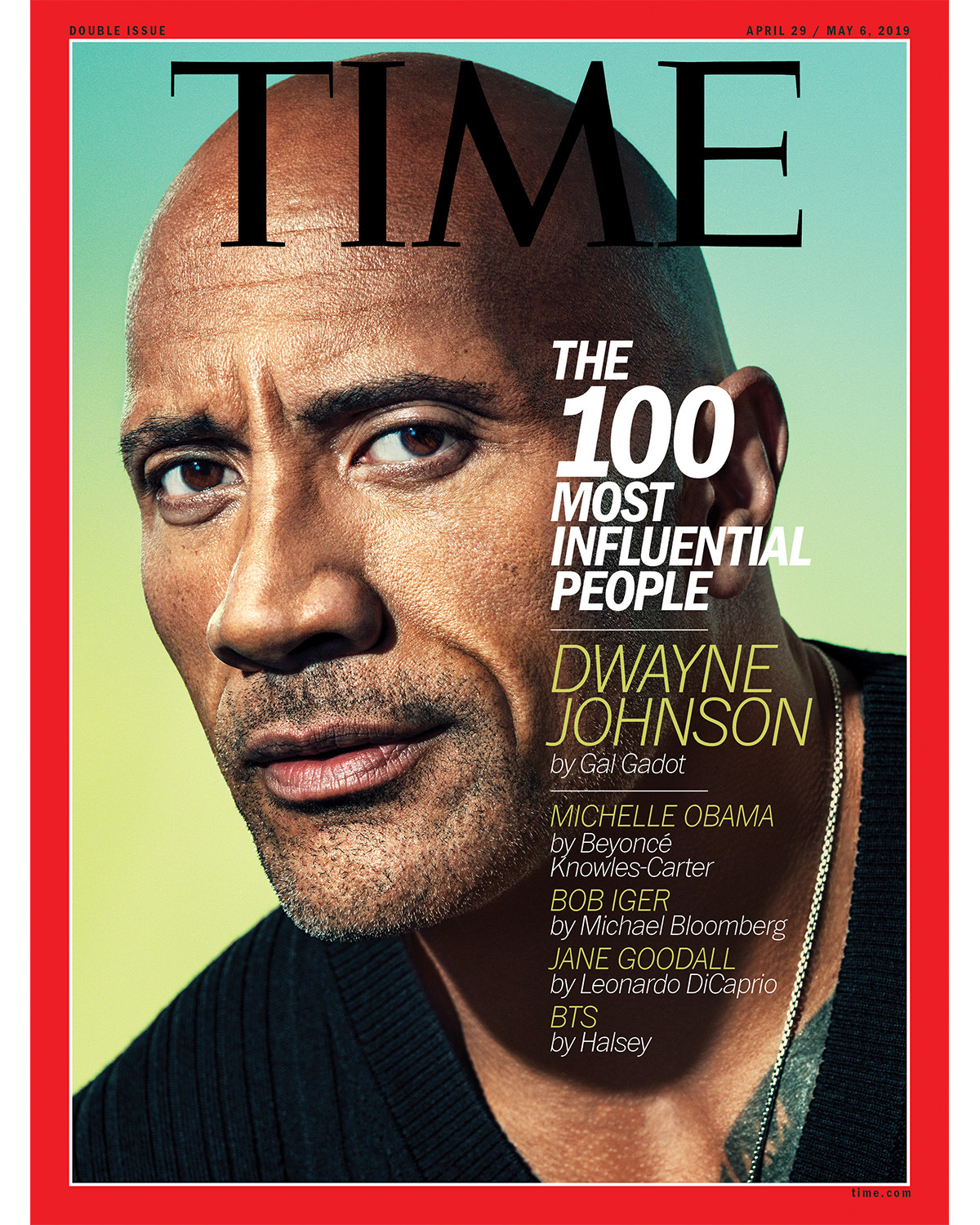 Dwayne Johnson Graces the Cover of TIME Magazine