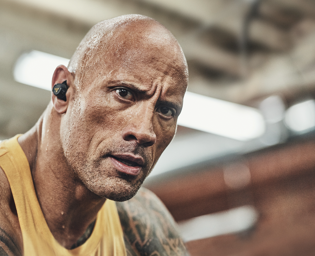 Dwayne Johnson Introduces New Project Rock In-Ear Headphones
