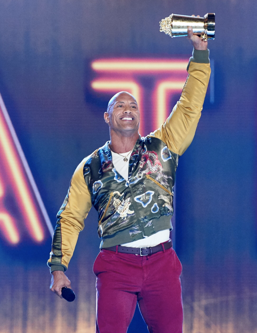 Dwayne Johnson Honored with the 'Generation' Award at 2019 MTV Movie & TV Awards