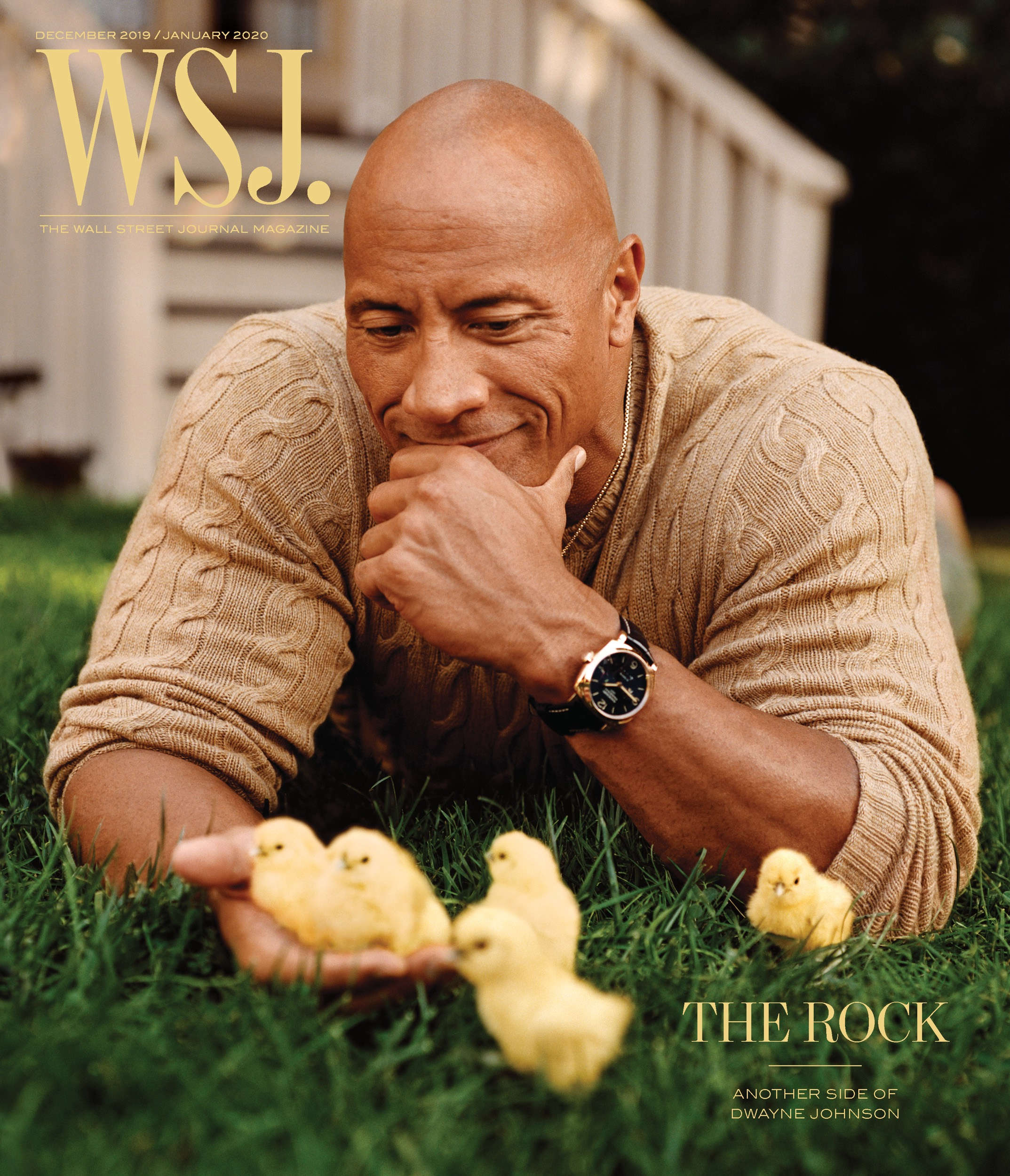 Dwayne Johnson Graces the Cover of Wall Street Journal Magazine