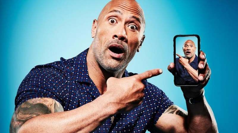 Dwayne Johnson Tops Forbes List of World's Highest-Paid Actors