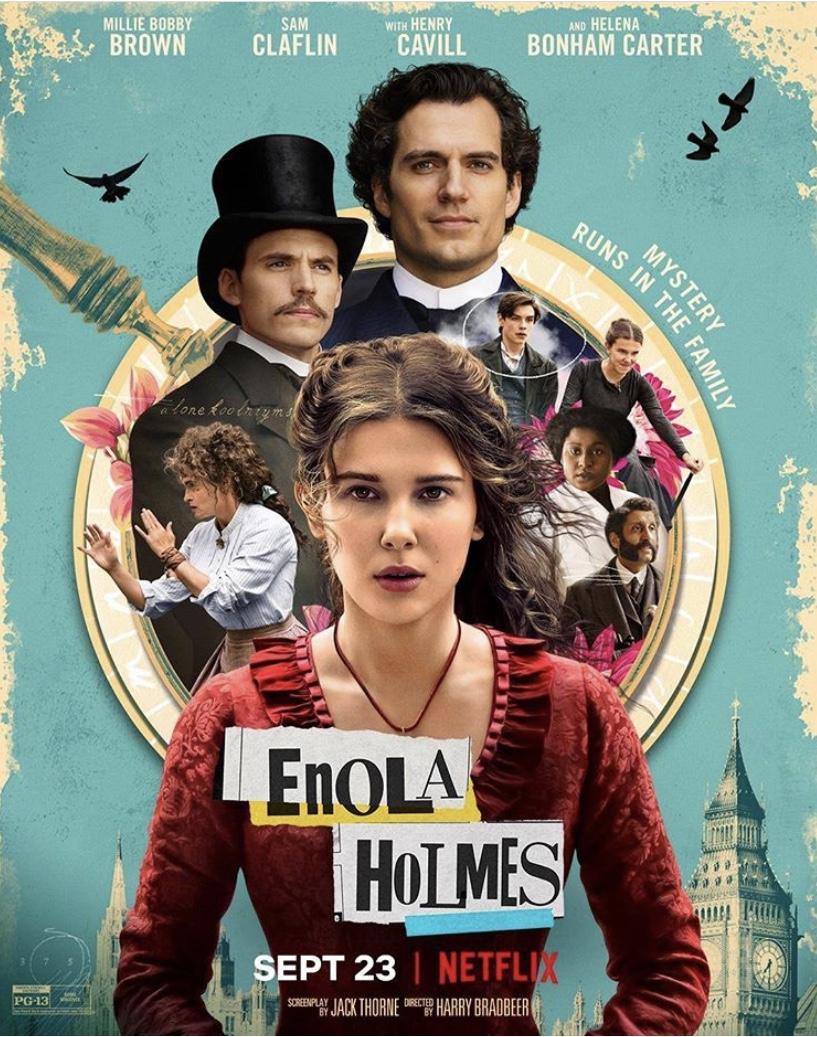 Netflix Drops 'Enola Holmes' Teaser, Sets September 23rd Release